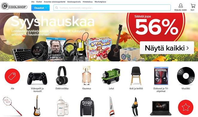 Coolshop.fi kokemuksia, alennuskoodit, tarjoukset kaikkiin tuotteisiin.