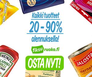 Kaikki tuotteet jopa 20 - 90 % alennuksella - osta nyt!