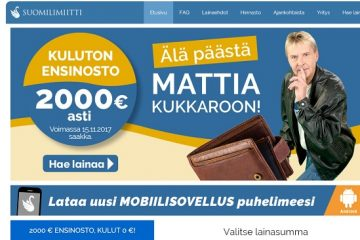 Suomilimiitin kokemukset ovat hyvät sen korottomuustarjouksen myötä