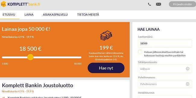 Komplettbank.fi - Se pankki, joka rentouttaa ja antaa säväytyksen taloudelle