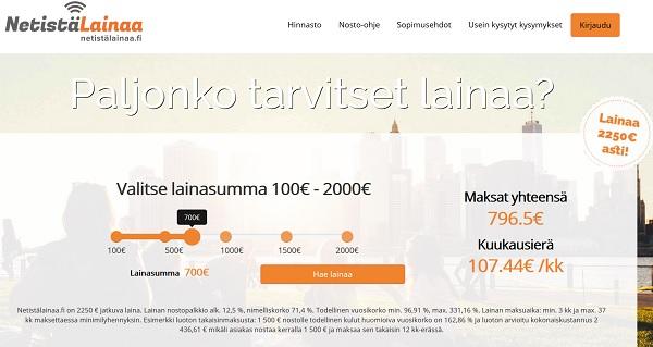 NetistäLainaa.fi - Kokemuksia uudesta, mutta vanhasta TopFinancen palvelusta: NetistäLainaa.fi:stä.