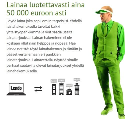 Lendolta lainaat luotettavasti ja kokemuksia on Pohjoismaista positiivisen puolen suuntamilta.