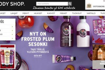 The Body Shopista on vuosien varrelta loistavat kokemukset, tarjouksia on sadoittain verkkokaupassa.