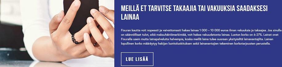 Härre god, kuinka hyvä tämä Ruotsin vertaisluottohelmi on; se kun ei vaadi edes vakuuksia tai takaajiakaan
